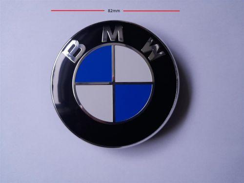 BMW Car Roundel / Emblem 82mm 2 pins BMW Bonnet Hood Boot Trunk 51148132375
