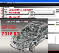 SOFTWARE ONLY v2018 Rev0 - Delphi Ds150e diagnostic software. CARS&TRUCK