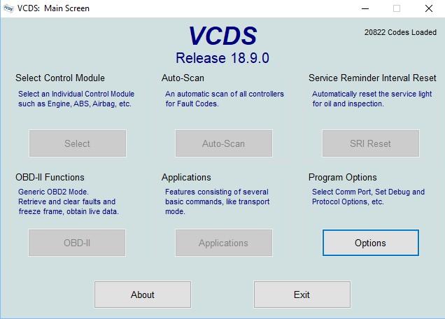 VCDS HEX V2 - 18 9 0